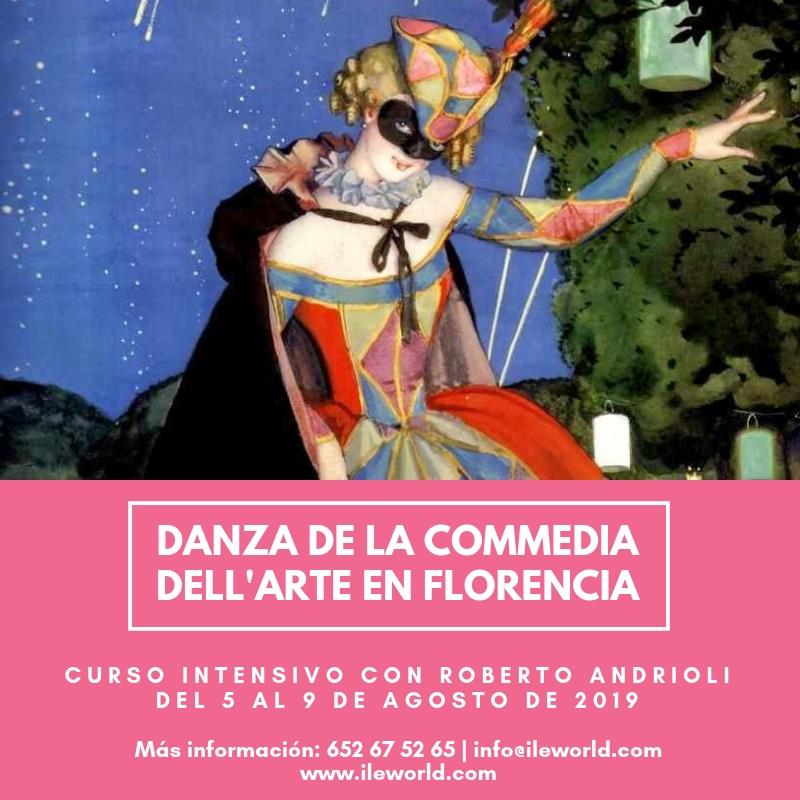 Cursos a medida de ILE - Cabecera - Danza de la Commedia dell'Arte en Florencia