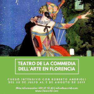 Cursos a medida ILE - Cabecera - Teatro de la Commedia dell'Arte en Florencia