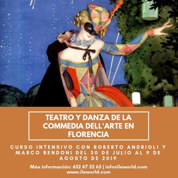 Cursos a medida ILE - Cabecera - Teatro y danza de la Commedia dell'Arte en Florencia