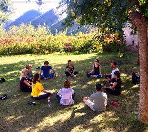 Curso de Meditación, Yoga y danzas sagradas de Gurdjieff en Benicàssim, octubre 2017