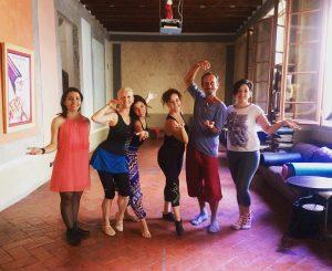 Curso de Danza de la Commedia dell'Arte en Florencia, julio 2017