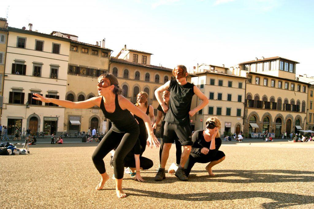 Curso de Teatro y Danza de la Commedia dell'Arte en Florencia, agosto 2011