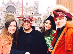 Curso de Teatro y fabricación de máscaras de la Commedia dell'Arte en Florencia y Venecia, febrero 2017