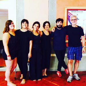Curso de Teatro de la Commedia dell'Arte en Florencia, julio 2017