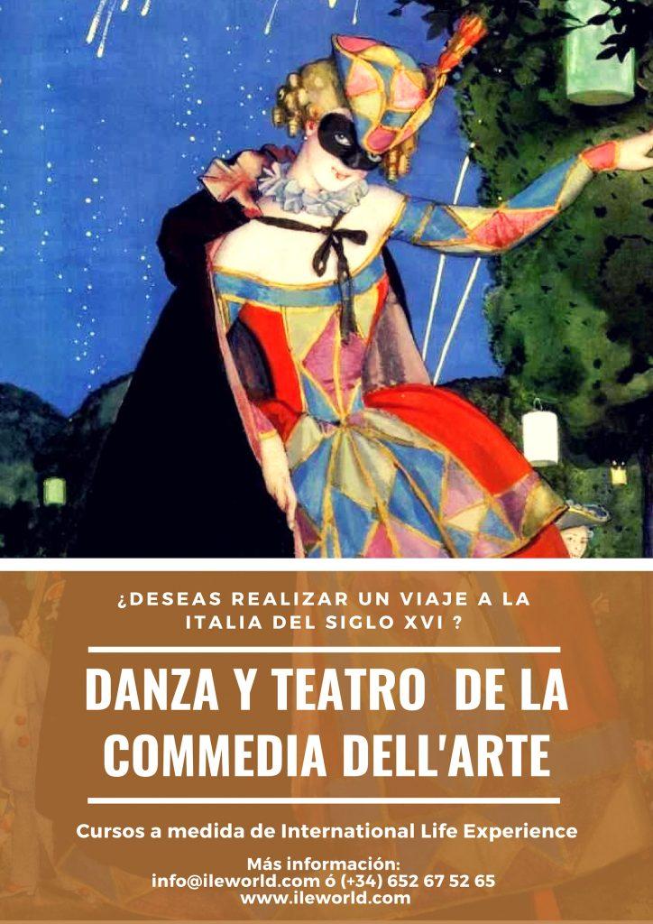 Cursos a medida de Danza y teatro de la Comedia del arte de ILE