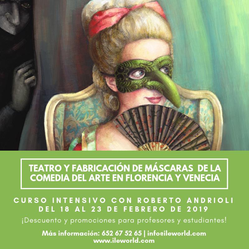 ILE - Cabecera -Teatro y fabricación de máscaras de la comedia del Arte 2