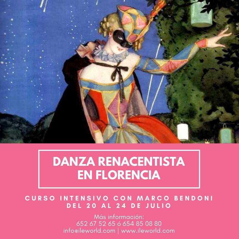 ILE - Danza de la Commedia dell'Arte en Florencia