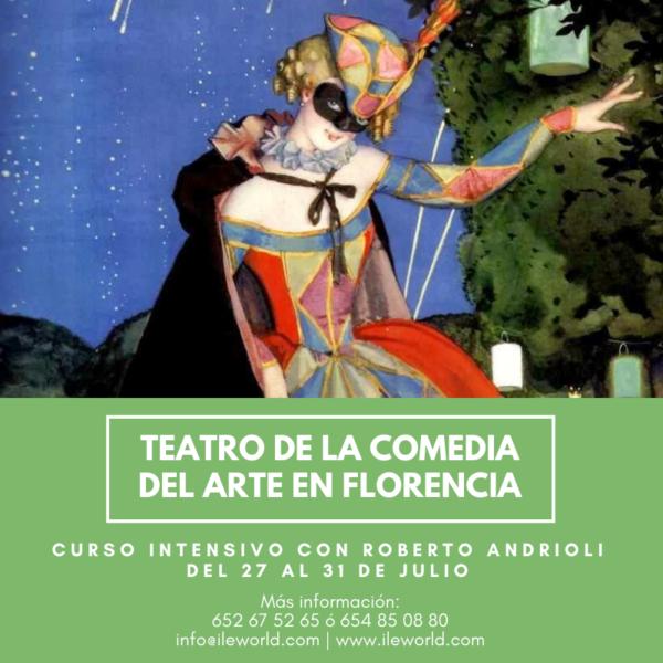 ILE - Teatro de la Commedia dell'Arte en Florencia