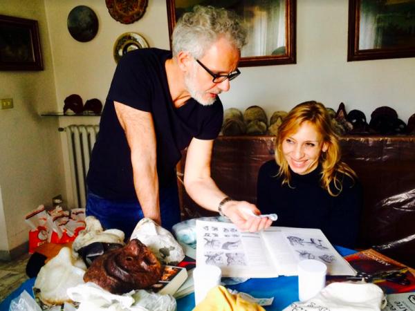 ILE - Taller de Fabricación de máscaras de la comedia del arte en Florencia 10