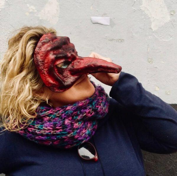 ILE - Taller de Fabricación de máscaras de la comedia del arte en Valencia 1