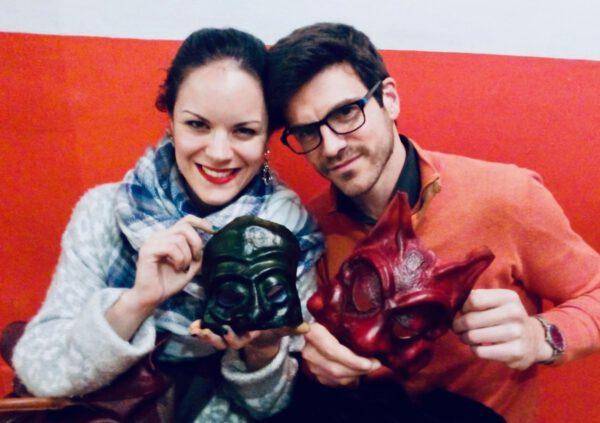 ILE - Taller de Fabricación de máscaras de la comedia del arte en Valencia 4