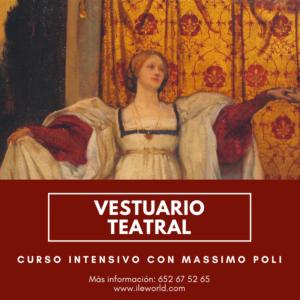 ILE - Vestuario teatral con Massimo Poli